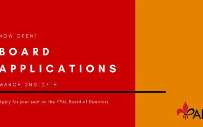 YPAL Board of Director Applications
