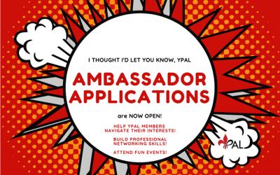 2021 Ambassador Applications are Live!