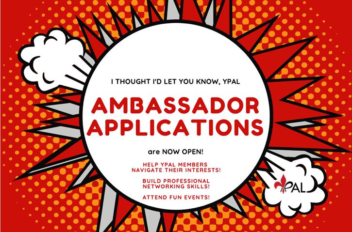 Ambassador Applications are Live!