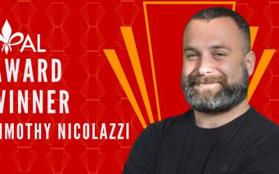 Meet Timothy Nicolazzi | 2020 YPAL Award Winner