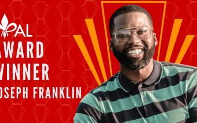 Meet Joseph Franklin | 2020 YPAL Award Winner