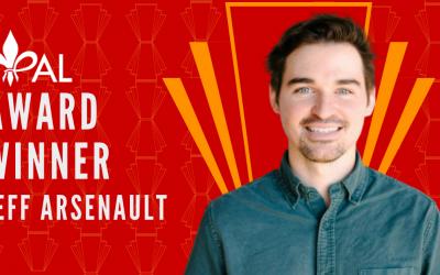 Meet Jeff Arsenault | 2020 YPAL Award Winner