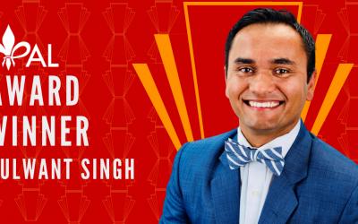 Meet Kulwant Singh | 2020 YPAL Award Winner