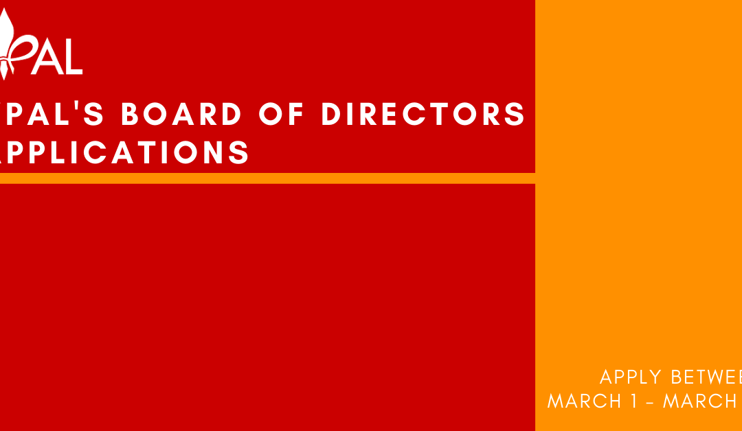 YPAL Board of Directors Applications