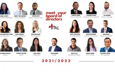 Meet the New 2021-2022 Board of Directors