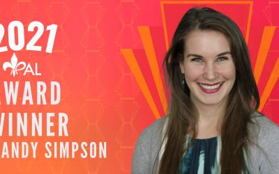 Meet Mandy Simpson | 2021 YPAL Award Winner