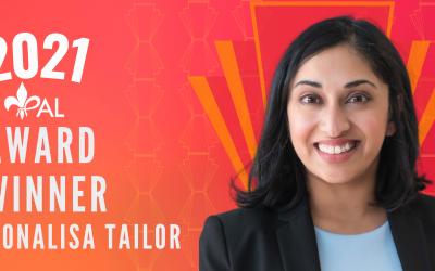 Meet Dr. Monalisa Tailor | 2021 YPAL Award Winner