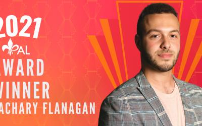 Meet Zachary Flanagan | 2021 YPAL Award Winner